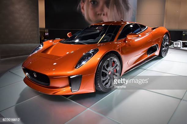 Jaguar C-X75 Spectre on the motor show