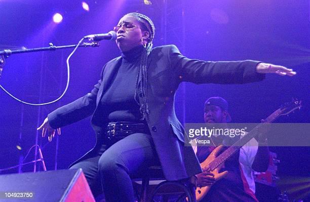Jaguar during MTV2 Sisters For Hip-Hop & Soul Tour at Roseland Ballroom in New York City, New York, United States.