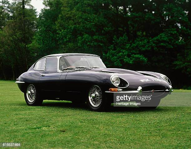 Jaguar E type 42 Fixed Head Coupe Artist Unknown