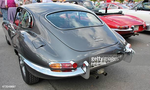 jaguar tipo e - jaguar foto e immagini stock