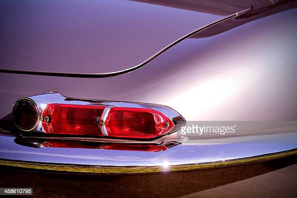 jaguar e-type rear light - jaguar e type stock photos and pictures