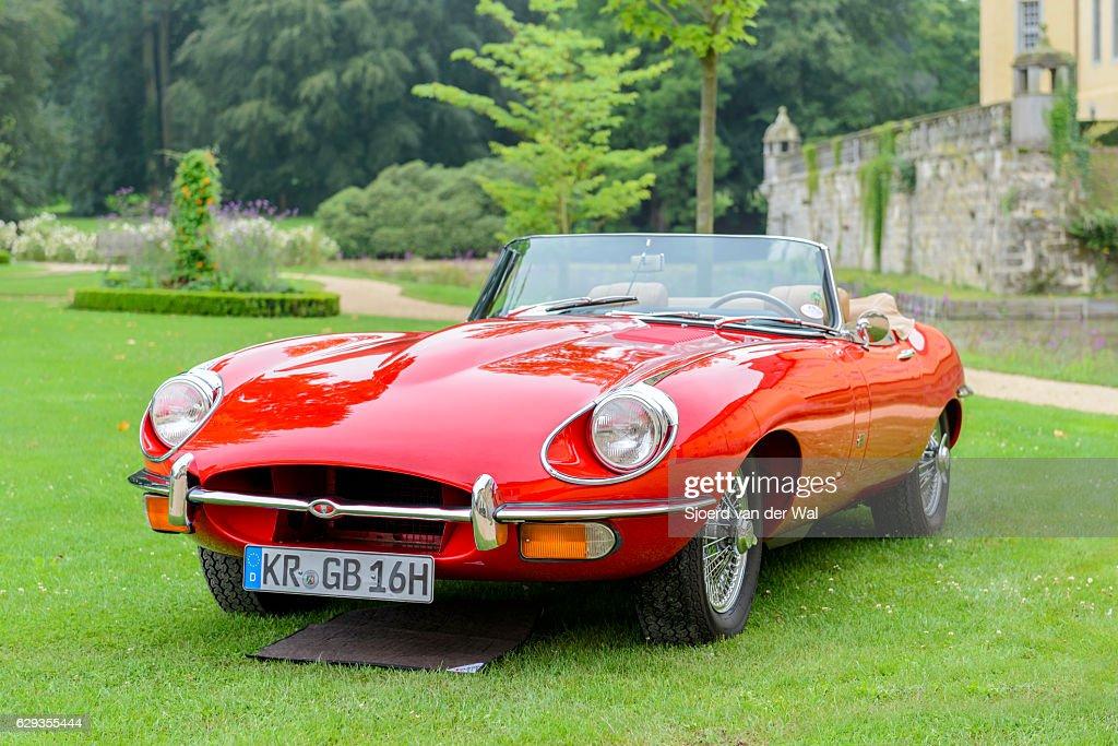 Jaguar E Type Roadster Classic British Sports Car