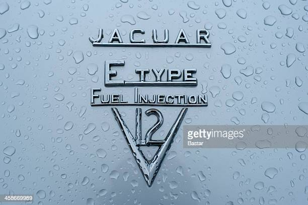 jaguar e-type v12 - jaguar e type stock photos and pictures