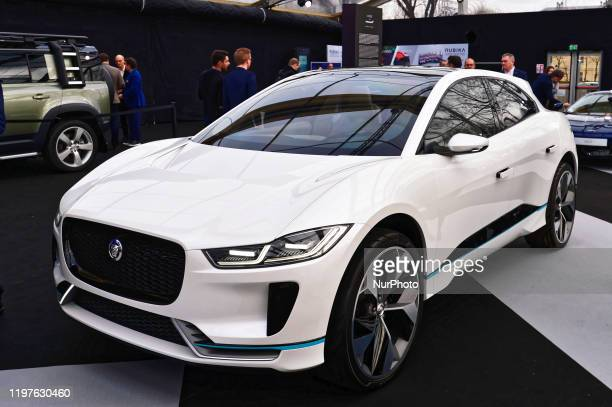 Jaguar I-Pace Concept is exhibited at the Festival Automobile International with Concept Cars and Automotive Design Exhibition - January 29 Paris