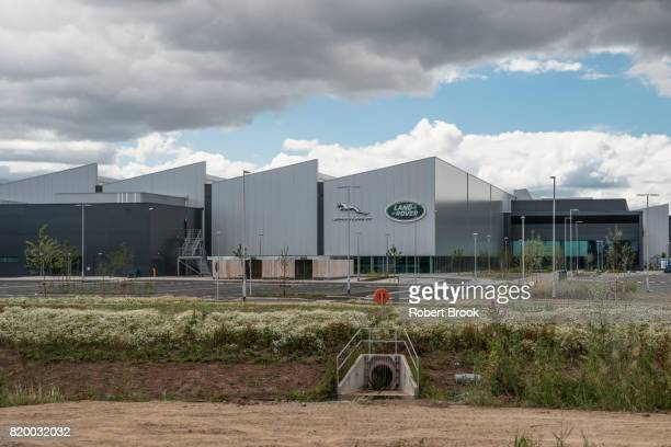 Jaguar Land Rover Engine Manufacturing Plant.