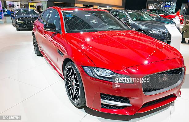 Jaguar XF saloon car