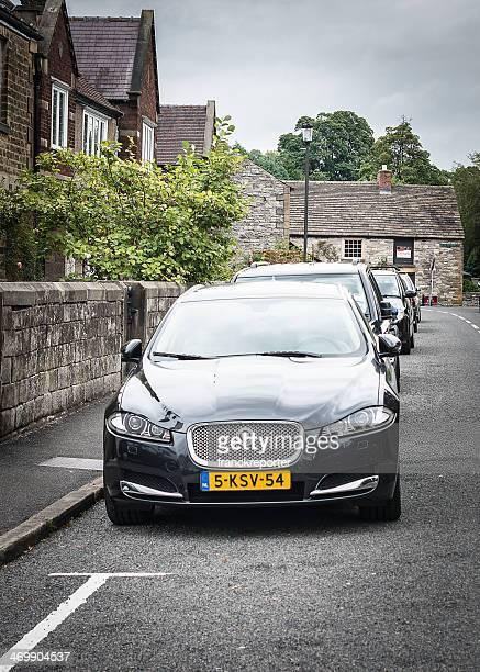 jaguar xf sportbrake - jaguar car stock pictures, royalty-free photos & images