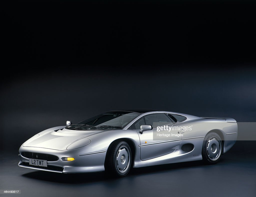 1993 Jaguar XJ 220. : News Photo