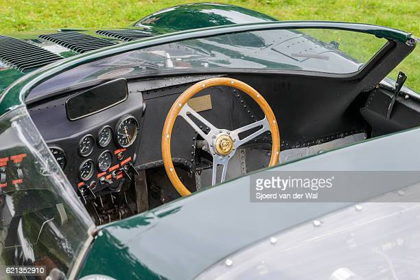 """jaguar xj13 1960s le mans race car prototype interior - """"sjoerd van der wal"""" stock pictures, royalty-free photos & images"""