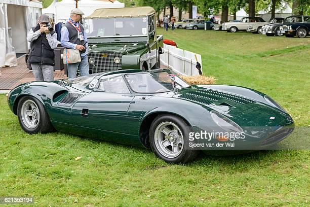 """jaguar xj13 1960s le mans race car prototype - """"sjoerd van der wal"""" stock pictures, royalty-free photos & images"""
