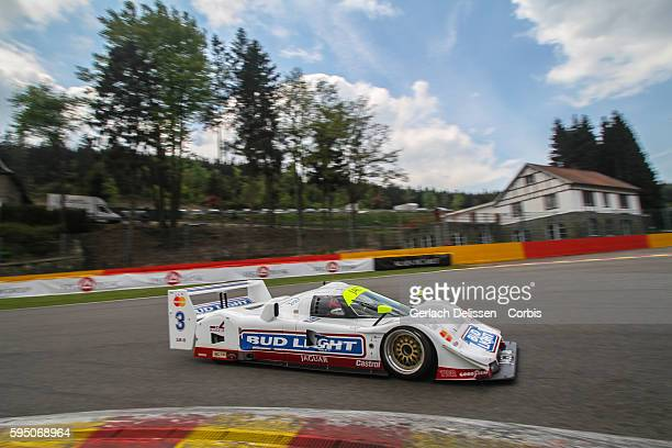 Jaguar XJR16, Group-C, in action during Spa-CLassic, May 25th, 2013 at Spa-Francorchamps Circuit in Belgium.
