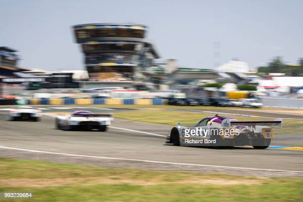 Jaguar XJR8 1987 competes during the Group C Racing race at Le Mans Classic 2018 on July 7 2018 in Le Mans France