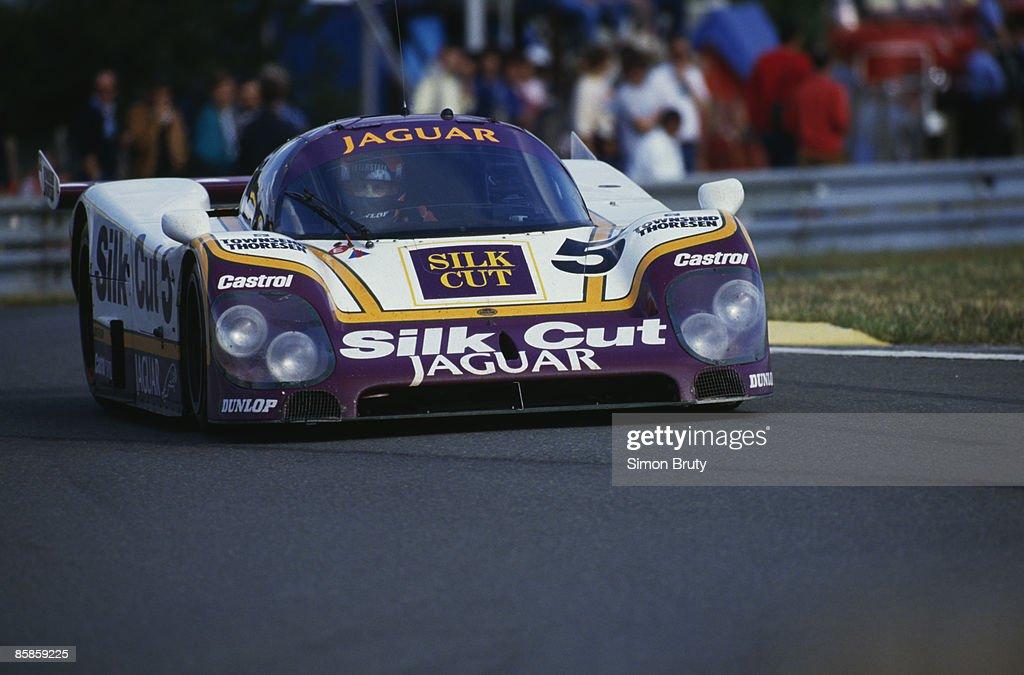 Jaguar At Le Mans : News Photo