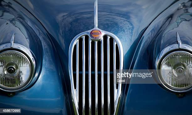 jaguar xk 140 - jaguar car stock pictures, royalty-free photos & images