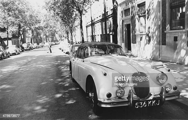 A Jaguar XK150 drophead coupe owned by society osteopath Stephen Ward 1st August 1963 Ward first introduced Christine Keeler to British Secretary of...