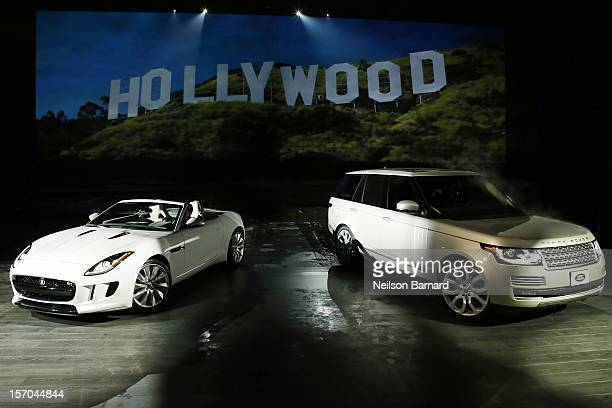 Jaguar's twoseat sports car the 2014 FTYPE and the allnew Range Rover the world's first allaluminum SUV were revealed at an exclusive event held at...