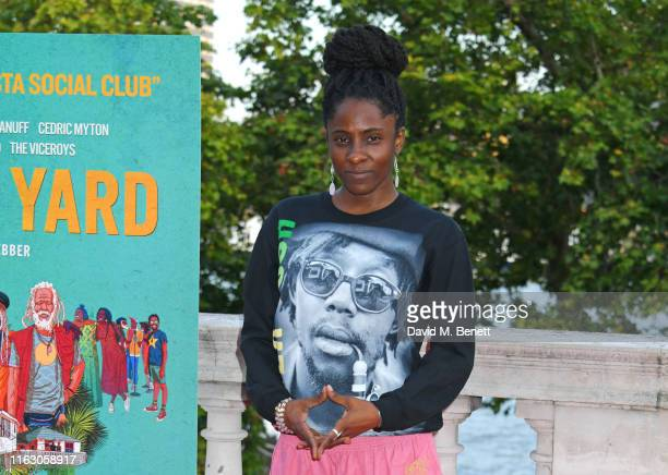 Jah9 attends the UK Premiere and Film4 Summer Screen closing night screening of Inna De Yard at Somerset House on August 21 2019 in London England