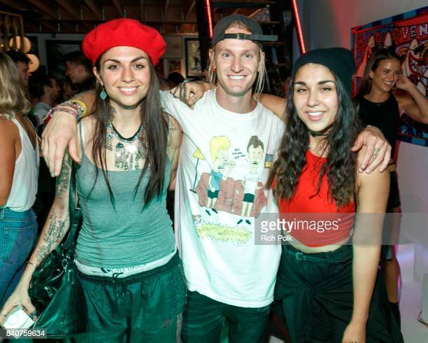 Jahan Yousaf Rory Kramer and Yasmine Yousaf attend MTV's Dare To Live Premiere Party at WNDO Space on August 29 2017 in Venice California