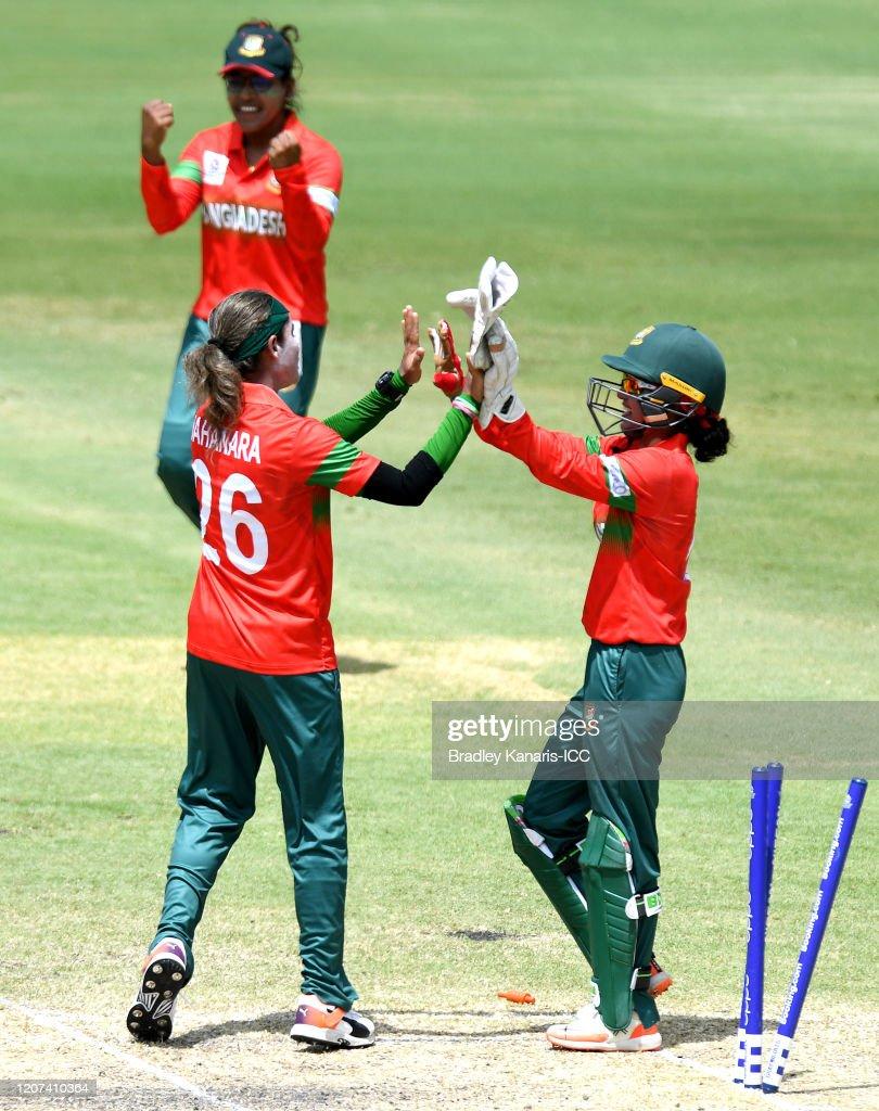 Bangladesh v Pakistan - Warm Up Match: ICC Women's T20 Cricket World Cup : ニュース写真