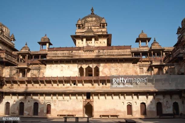 Jahangir mahal at Orchha, Tikamgarh, Madhya Pradesh, India