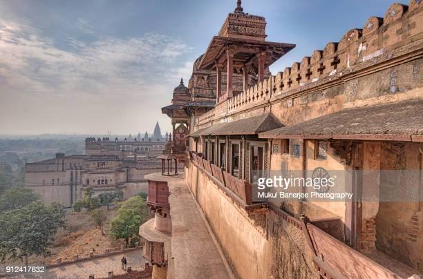 Jahangir Mahal Inside Orchha Fort Complex, Orchha, Madhya Pradesh, India