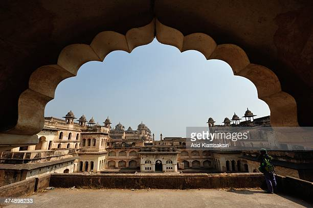 Jahangir Mahal one of Orchha's ancient sites