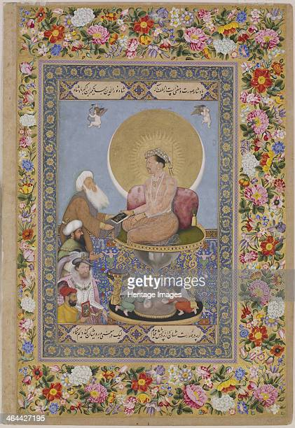 Jahangir Preferring a Sufi sheikh to Kings c 1618 Found in the collection of the State Hermitage St Petersburg