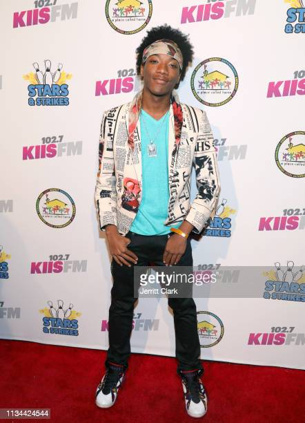 Jaheem Toombs attends A Place Called Home's Annual Stars And Strikes Celebrity Bowling And Poker Tournament at PINZ Bowling Entertainment Center on...