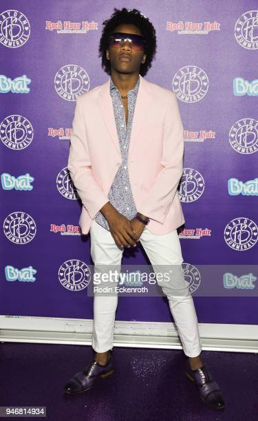 Jaheem Toombs attends Hayden Summerall's 13th Birthday Bash at Bardot on April 15 2018 in Hollywood California