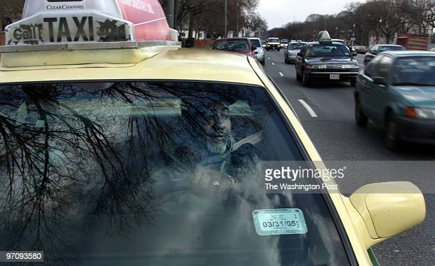 ME_TAXI 2/17/2005 jahi chikwendiu Adrian Brocks a DC native and taxi driver is a news junkie who wears his politics on his sleeve And he drives a...