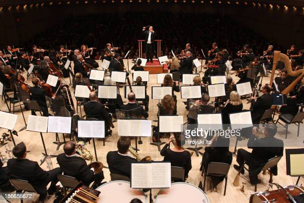 Jahja Ling leading the San Diego Symphony at Carnegie Hall on Tuesday night October 29 2013This imageJahja Ling leading the San Diego Symphony in...