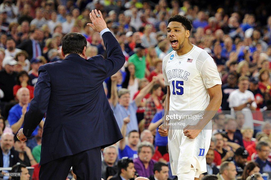 Gonzaga v Duke : News Photo