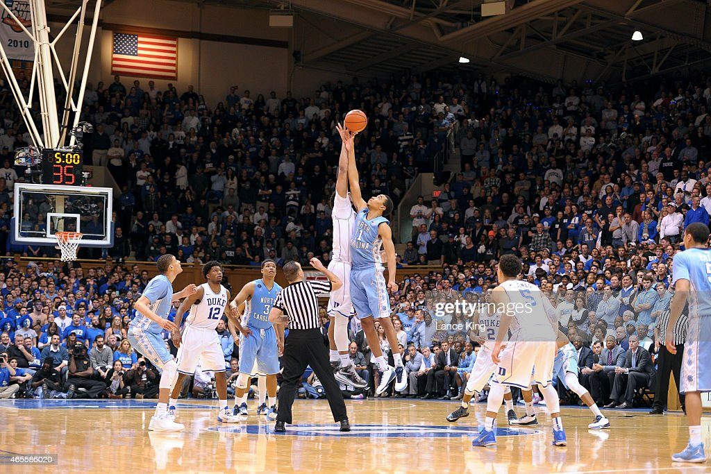 North Carolina v Duke : News Photo