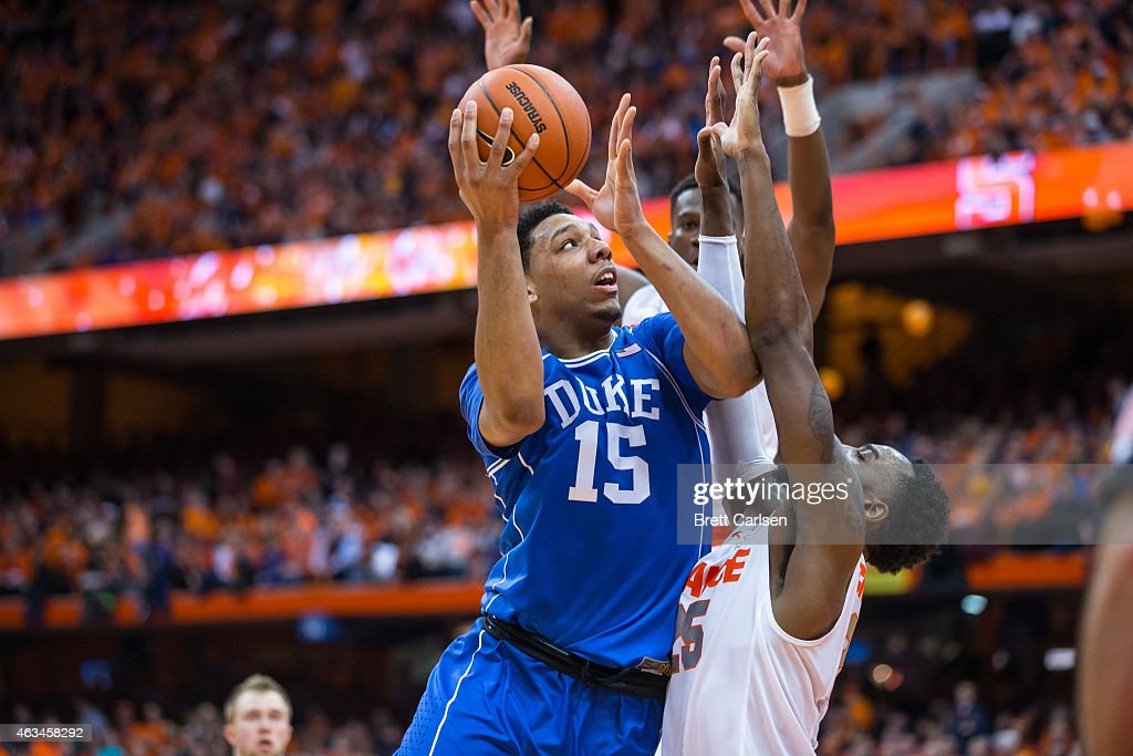 Duke v Syracuse : News Photo