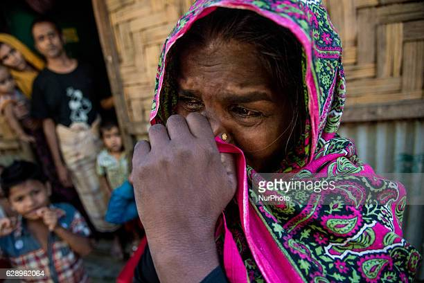 Jahra khatun reached at Rahingya camp of Leda few minutes back Claimed her Son was killed by military on 8th December 2016 There are six Rohingya...