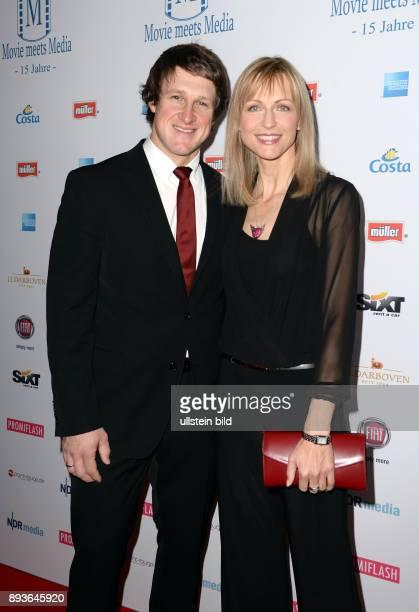 15 Jahre Movie meets Media Iim Hotel Atlantic Kempinski Hamburg Matthias Steiner ist ein ehemaliger deutscher Gewichtheber mit Ehefrau Katie
