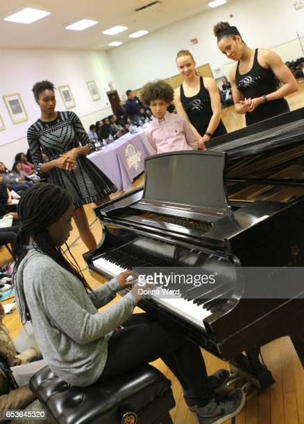 Jahsent Nelson appears during the 11th Annual Garden of Dreams Talent Show rehearsal at Radio City Music Hall on March 15 2017 in New York City