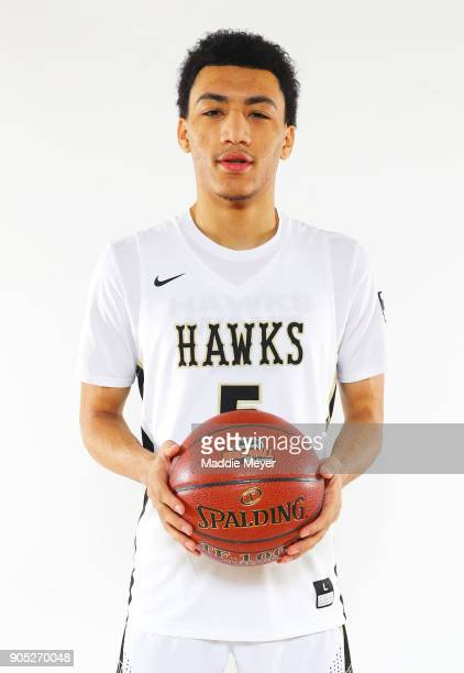Jahvon Quinerly of Hudson Catholic High School poses for a portrait during the 2018 Spalding Hoophall Classic at Blake Arena at Springfield College...