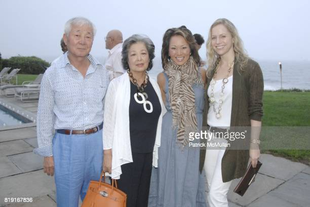 Jai Cho Kim Cho Alina Cho and Rory Hermelee attend JUDY LICHT and JERRY DELLA FEMINA Hosts Cocktails for STEPHANIE WINSTON WOLKOFF and DAVID WOLKOFF...