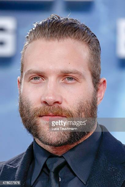 Jai Courtney arrives at the European Premiere of 'Terminator Genisys' at the CineStar Sony Center on June 21 2015 in Berlin Germany