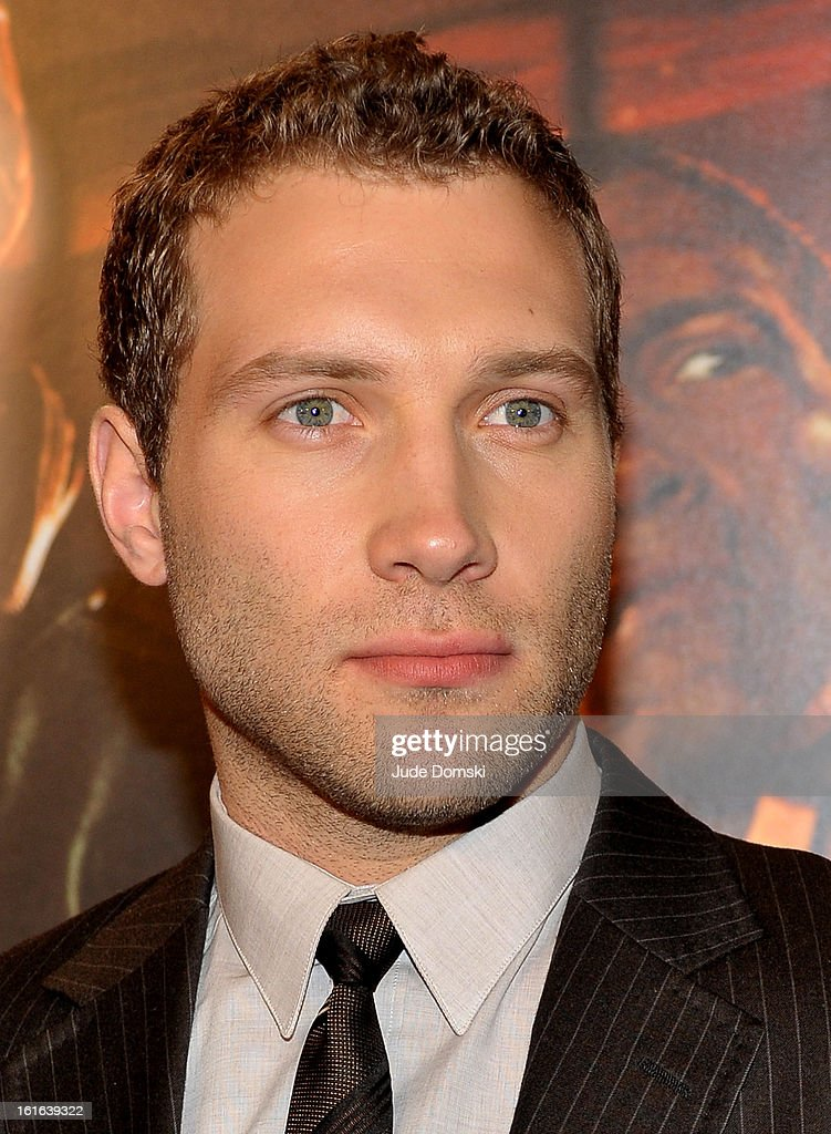 Jai Courtney attends 'A Good Day To Die' New York Fan Event at AMC Empire on February 13, 2013 in New York City.