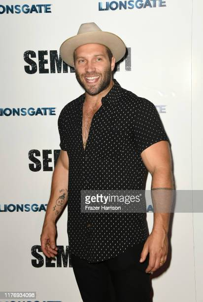 """Jai Courtney attends a Special Screening Of Lionsgate's """"Semper Fi"""" at ArcLight Hollywood on September 24, 2019 in Hollywood, California."""