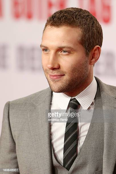 Jai Courtney attends 'Die Hard Ein Guter Tag Zum Sterben' Germany Premiere at Cinestar Potsdamer Platz on February 4 2013 in Berlin Germany