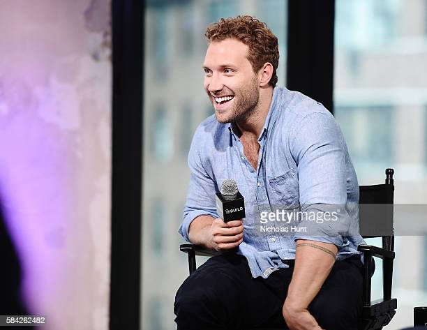 """Jai Courtney attends the AOL Build Speaker Series to discuss """"Suicide Squad"""" at AOL HQ on July 28, 2016 in New York City."""