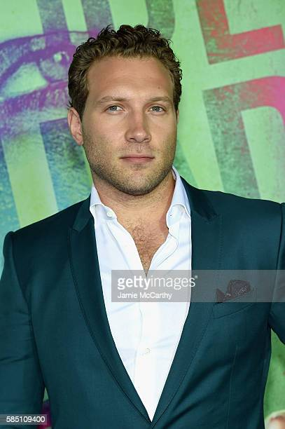 Jai Courtney attends the Suicide Squad World Premiere at The Beacon Theatre on August 1 2016 in New York City