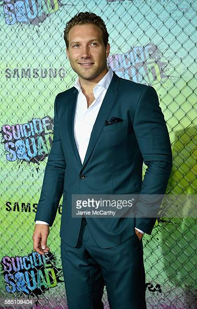 Jai Courtney attends the 'Suicide Squad' World Premiere at The Beacon Theatre on August 1 2016 in New York City