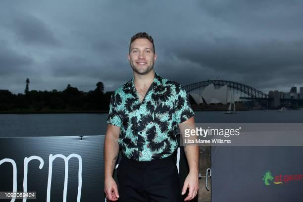 Jai Courtney attends the Sydney premiere of Storm Boy on January 10 2019 in Sydney Australia