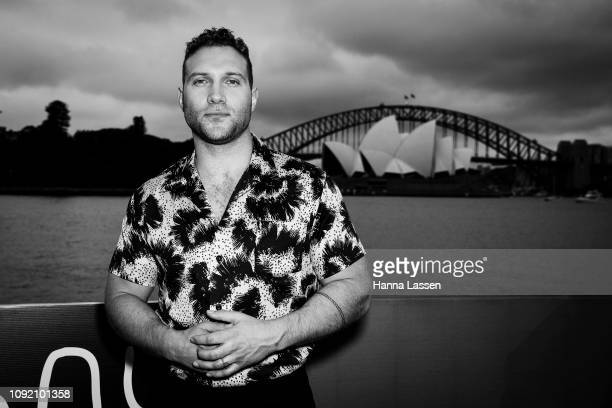 Jai Courtney attends the Sydney premiere of Storm Boy on January 10 2019 in Sydney Australia