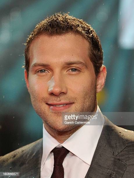 Jai Courtney attends the UK Premiere of 'A Good Day To Die Hard' at Empire Leicester Square on February 7, 2013 in London, England.