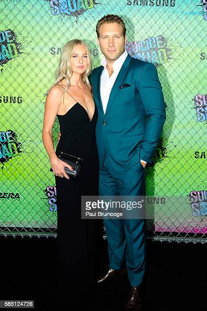 """Jai Courtney attends The World Premiere of Warner Bros. Pictures and Atlas Entertainment's """"Suicide Squad"""" at The Beacon Theatreq on August 1, 2016..."""